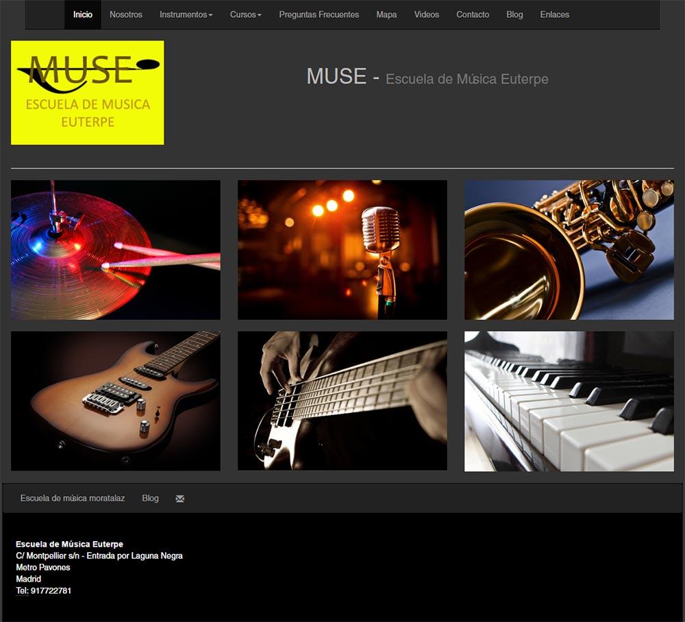Ideas dise o p ginas web escuelas academias graficmedia for Paginas web sobre turismo
